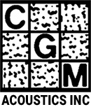 CGM Acoustics Logo